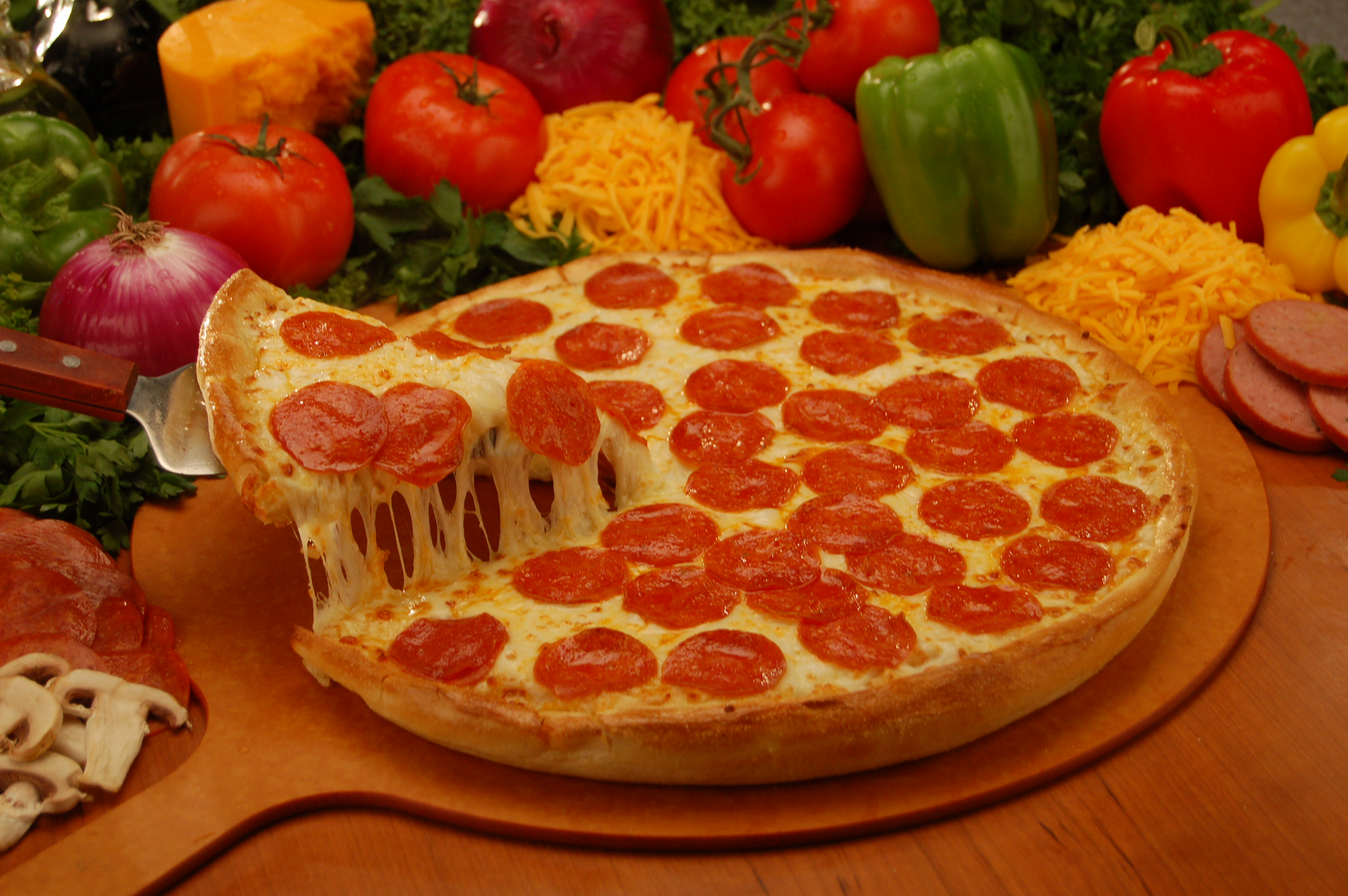 Pizza - Cheezie's Pizza