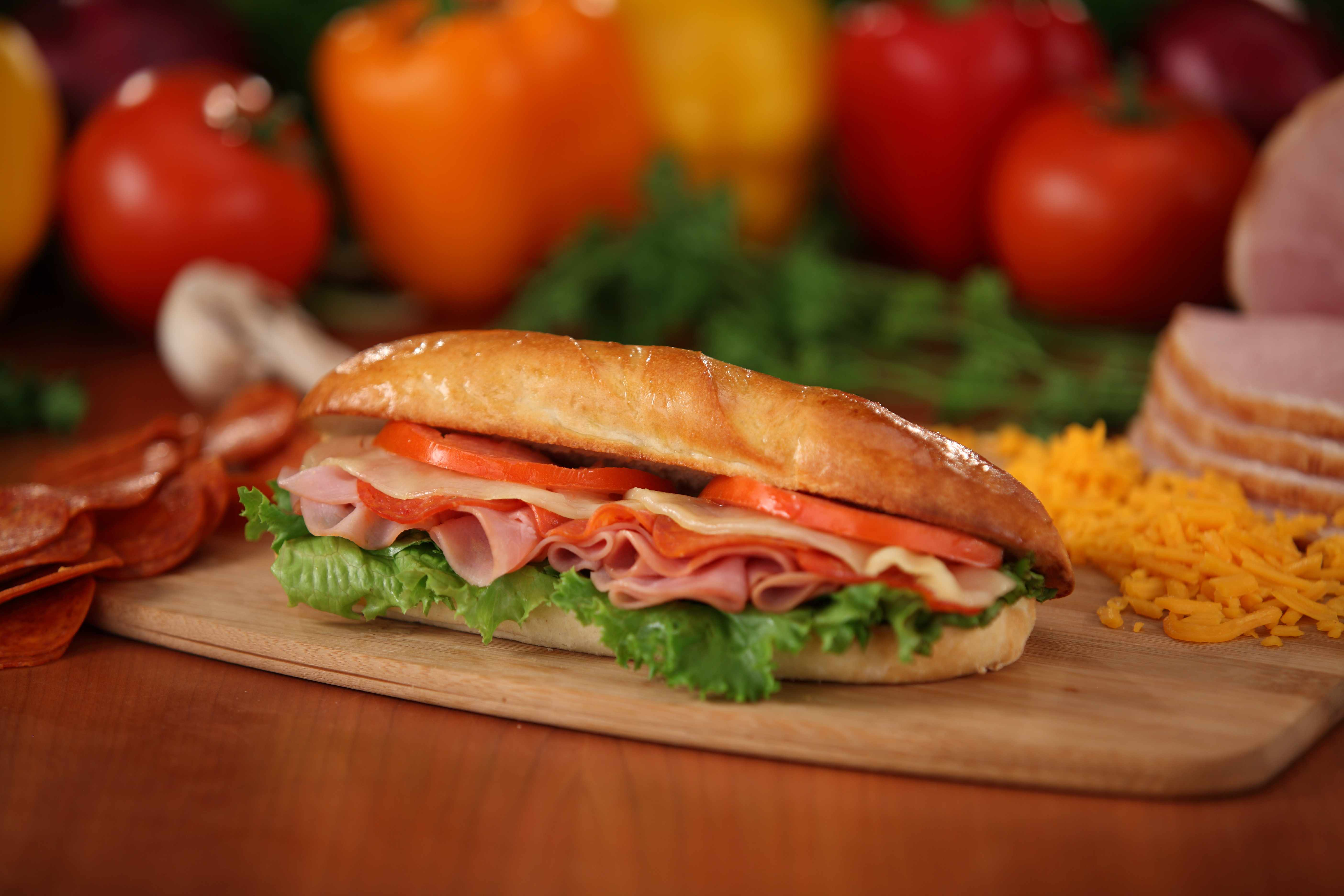 Toasted Italian Sandwich Food Fun Friday furthermore Room Service Menu further Panini 81986 as well blackbeardeli as well Operation Awesome School Lunch. on sliced turkey and ham
